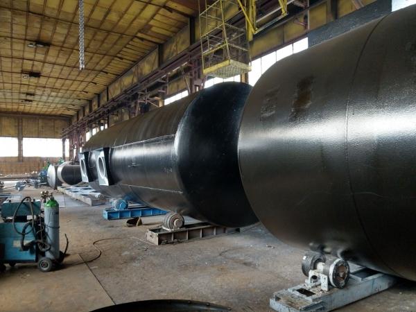 Rezervor subteran 60000 litri pereti dubli 10
