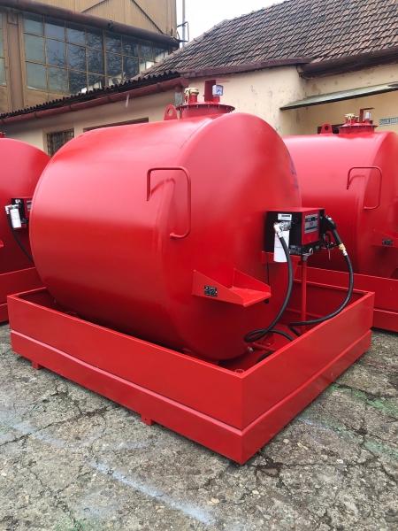 Rezervor suprateran 5000 litri cu pompa CUBE 56 cu contor mecanic [0]