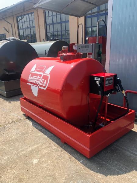 Rezervor suprateran 2000 litri cu pompa CUBE 56 0