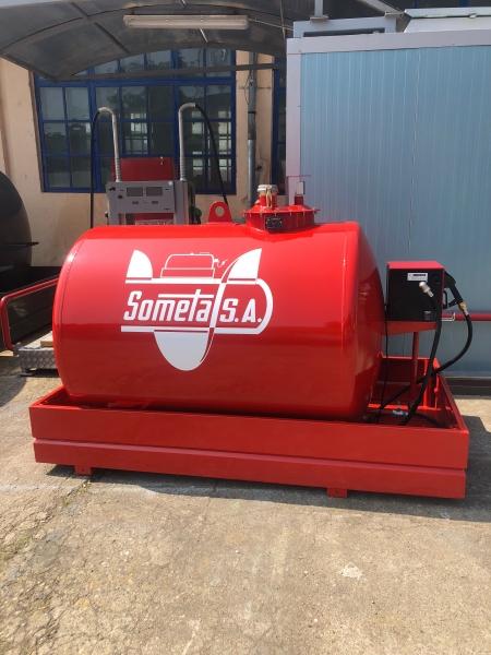 Rezervor suprateran 2000 litri cu pompa CUBE 56 1