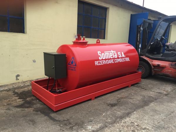 Rezervor suprateran 3000 litri cu pompă ST BOX 1