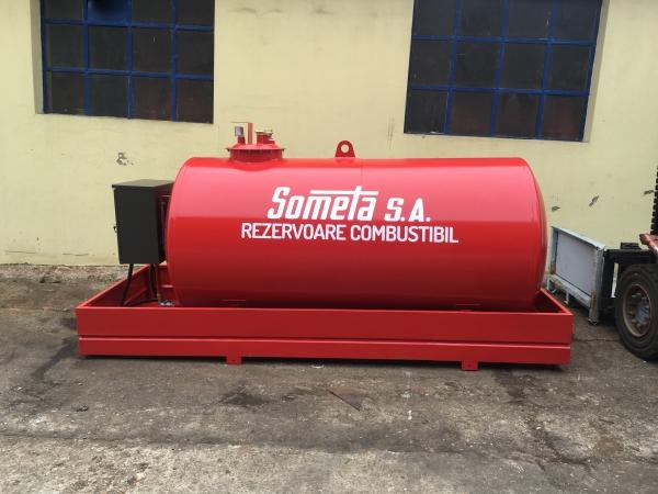 Rezervor suprateran 3000 litri cu pompă ST BOX 0