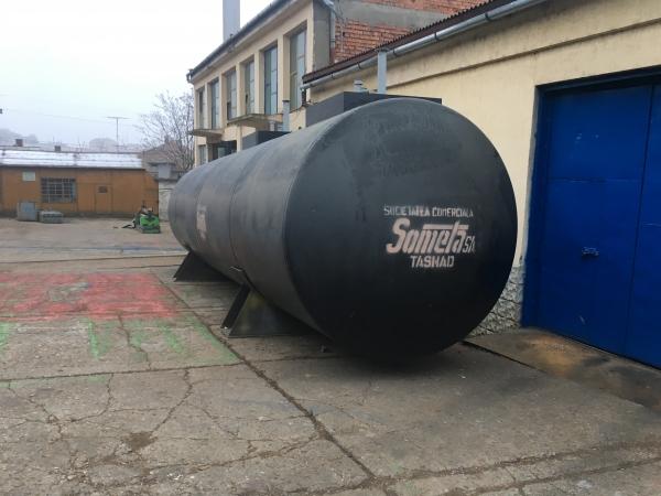 Rezervor subteran 50000 litri cu pereti dubli 1