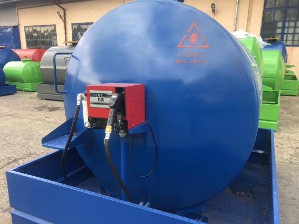 Rezervor suprateran 5000 litri cu pompa CUBE 56 cu contor mecanic [7]