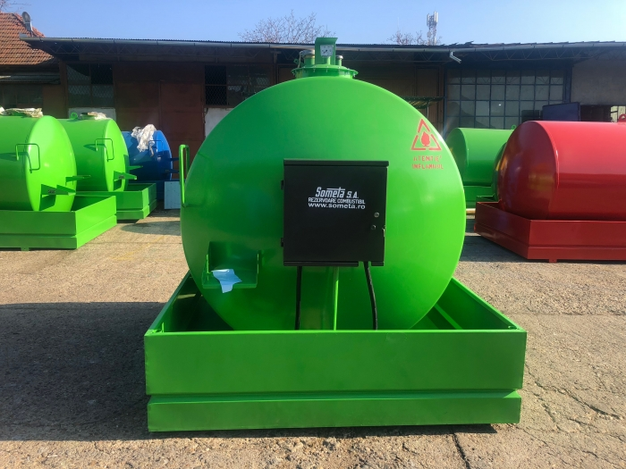 Rezervor suprateran 5000 litri cu pompa  ST BOX - verde 1