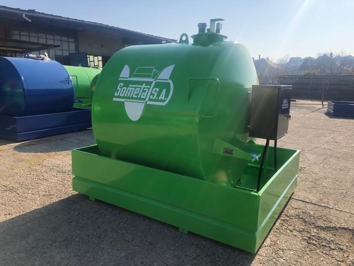 Rezervor suprateran 5000 litri cu pompa  ST BOX - verde 0