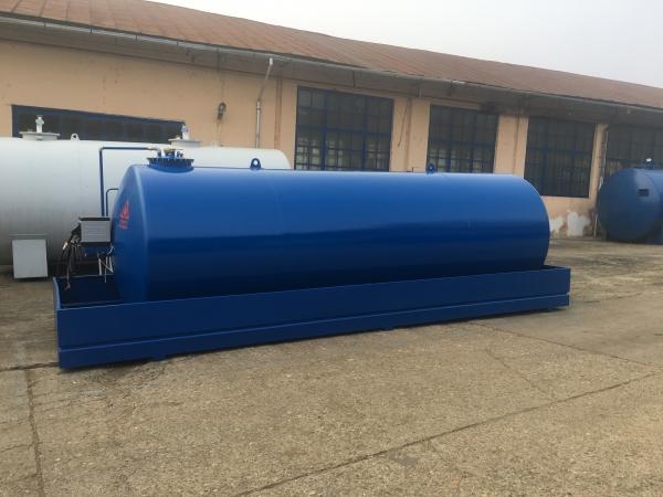 Rezervor suprateran 20000 litri cu pompa electronica CUBE 70 2