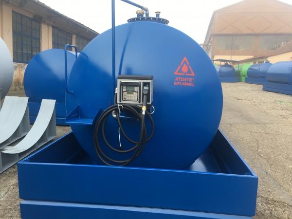 Rezervor suprateran 20000 litri cu pompa electronica CUBE 70 1