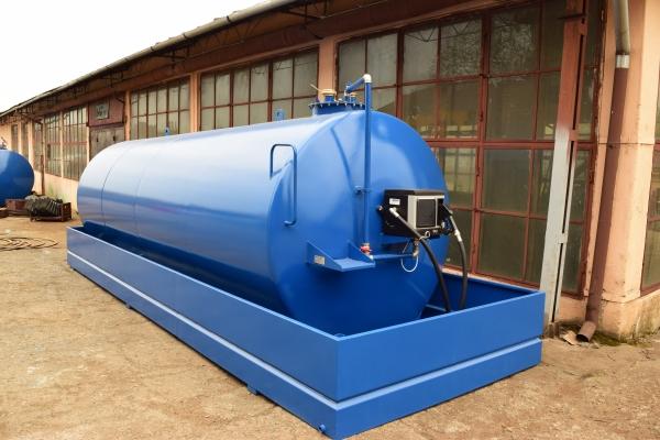 Rezervor suprateran 20000 litri cu pompa electronica CUBE 70 0