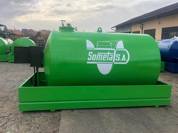 Rezervor suprateran 9000 litri cu pompa ST BOX - verde 3
