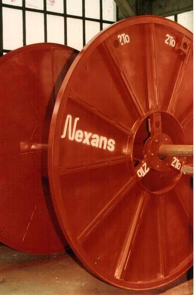 Tamburi metalici si bobine pentru infasurare conductori, cabluri si sarme 18
