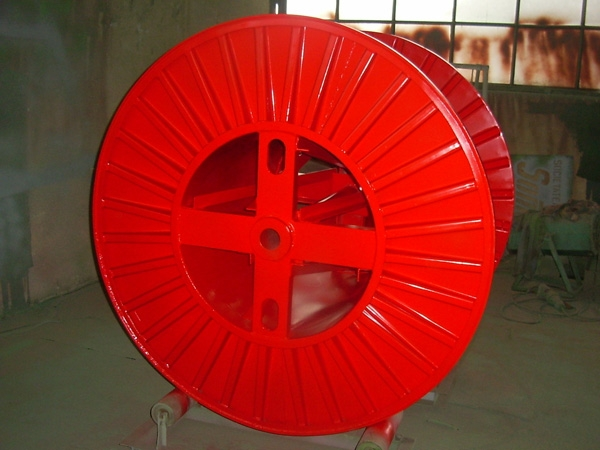 Tamburi metalici si bobine pentru infasurare conductori, cabluri si sarme 23