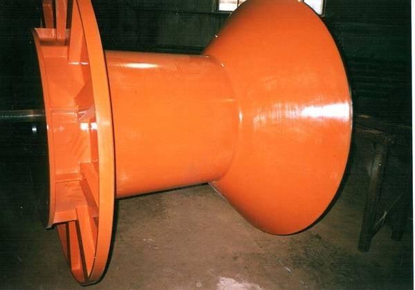 Tamburi metalici si bobine pentru infasurare conductori, cabluri si sarme 5