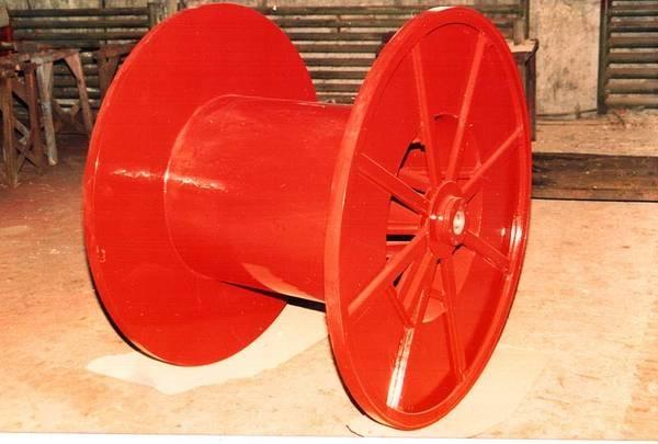 Tamburi metalici si bobine pentru infasurare conductori, cabluri si sarme 9