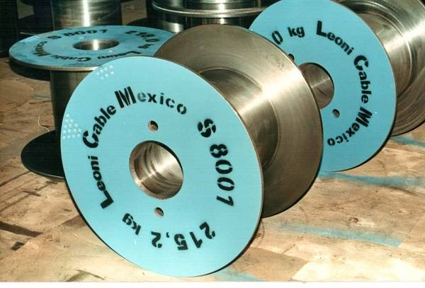 Tamburi metalici si bobine pentru infasurare conductori, cabluri si sarme 6
