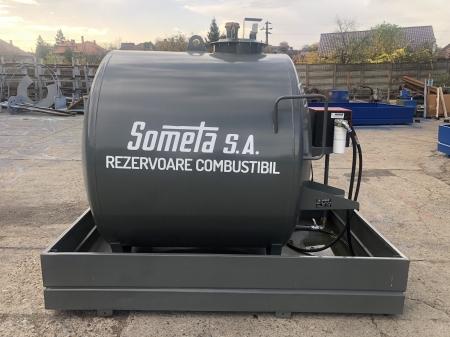 Rezervor suprateran 3000 litri cu pompa Cube 560