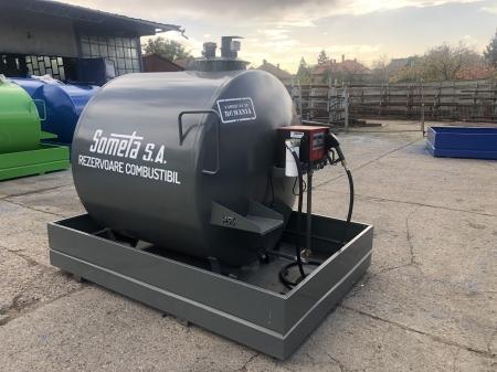 Rezervor suprateran 3000 litri cu pompa Cube 561