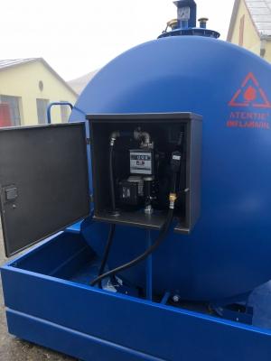 Rezervor suprateran 5000 litri cu pompă ST BOX2