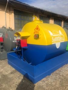 Rezervor suprateran 5000 litri cu pompa CUBE 56 cu contor mecanic [3]