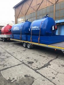 Rezervor suprateran 5000 litri cu pompa CUBE 56 cu contor mecanic [1]