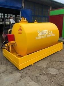 Rezervor suprateran 5000 litri cu pompa CUBE 56 cu contor mecanic [2]