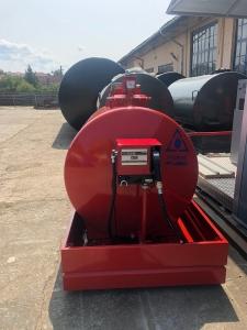 Rezervor suprateran 2000 litri cu pompa CUBE 562