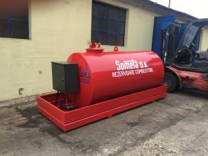 Rezervor suprateran 3000 litri cu pompă ST BOX1