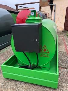 Rezervor suprateran 3000 litri cu pompă ST BOX3