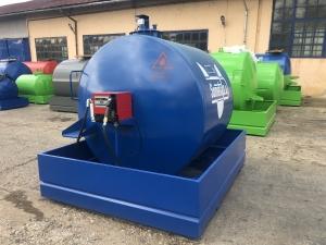 Rezervor suprateran 5000 litri cu pompa CUBE 56 cu contor mecanic [5]