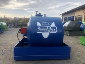 Rezervor suprateran 5000 litri cu pompa CUBE 56 cu contor mecanic [6]