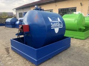 Rezervor suprateran 5000 litri cu pompa CUBE 56 cu contor mecanic [4]