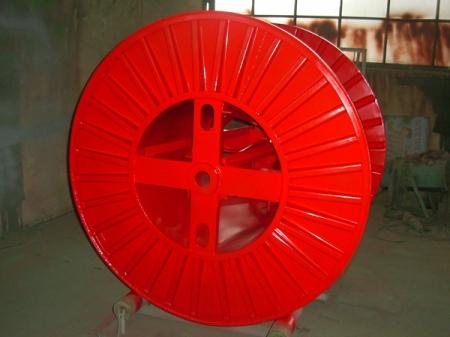 Tamburi metalici si bobine pentru infasurare conductori, cabluri si sarme23