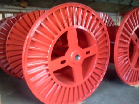 Tamburi metalici si bobine pentru infasurare conductori, cabluri si sarme21