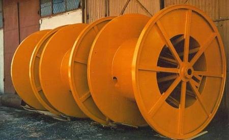 Tamburi metalici si bobine pentru infasurare conductori, cabluri si sarme [1]