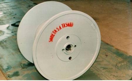 Tamburi metalici si bobine pentru infasurare conductori, cabluri si sarme16