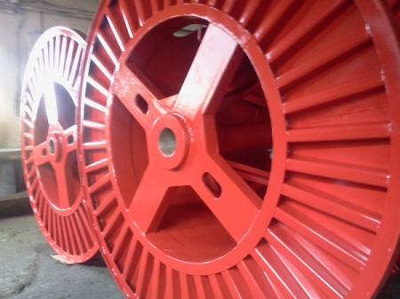 Tamburi metalici si bobine pentru infasurare conductori, cabluri si sarme20