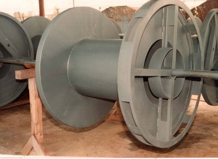 Tamburi metalici si bobine pentru infasurare conductori, cabluri si sarme11