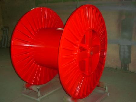 Tamburi metalici si bobine pentru infasurare conductori, cabluri si sarme24