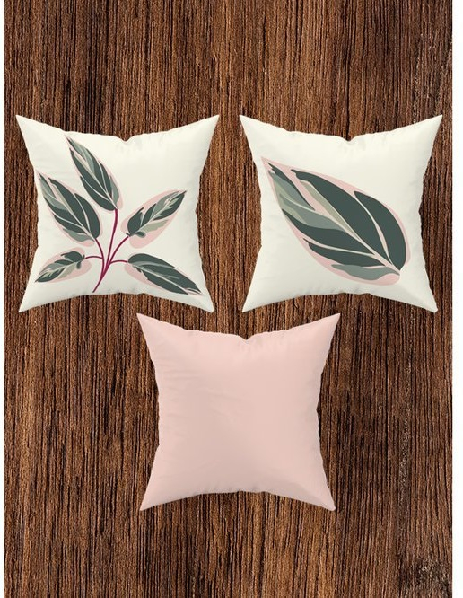 ADENKA Set 3 Perne decorative 43x43 cm [4]