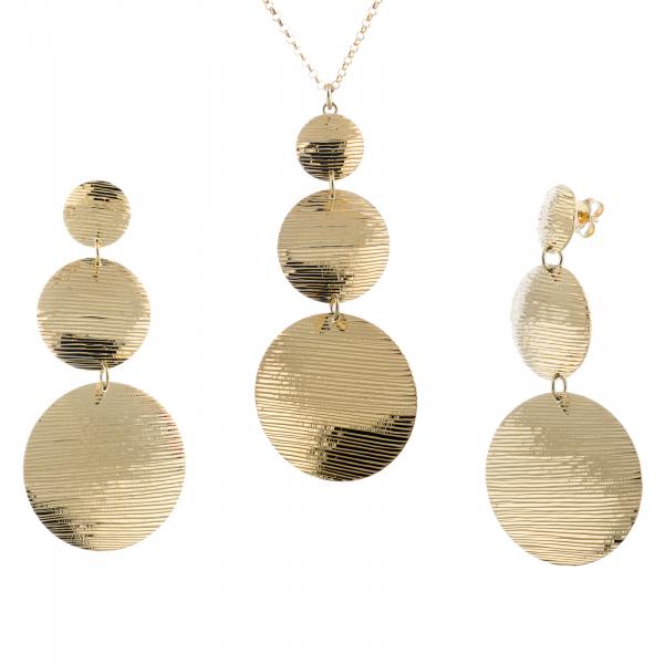 Set din argint 925 (cercei+lant+pandantiv) [0]