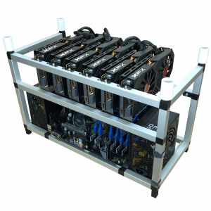 Ethereum Mining Rig - Complet 6x Sapphire RX 5700XT Nitro + 8192MB, GDDR6,2xHDMI, 2xDP 11293-03-40G0