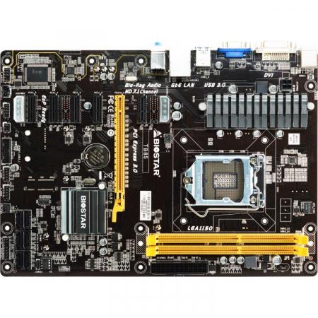 PLACA DE BAZA MINING BIOSTAR TB85 SKT1150 6 X PCI1