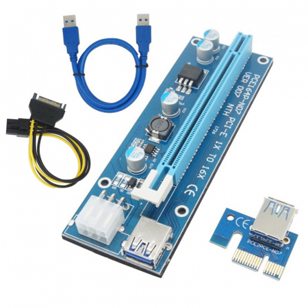 SET 25 X PCI USB RISER VER.0070