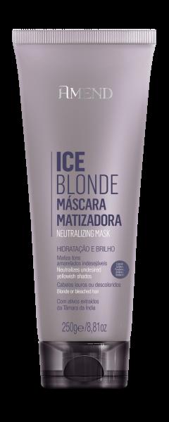 Masca Nuantatoare Platinat pentru Par Blond Ice Blonde 0