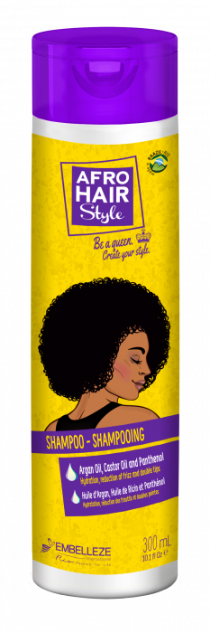 AfroHair Sampon Hidratant pentru Par Cret 300ml [0]
