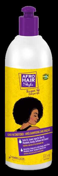 AfroHair Balsam fara Clatire pentru Par Cret 500g [0]