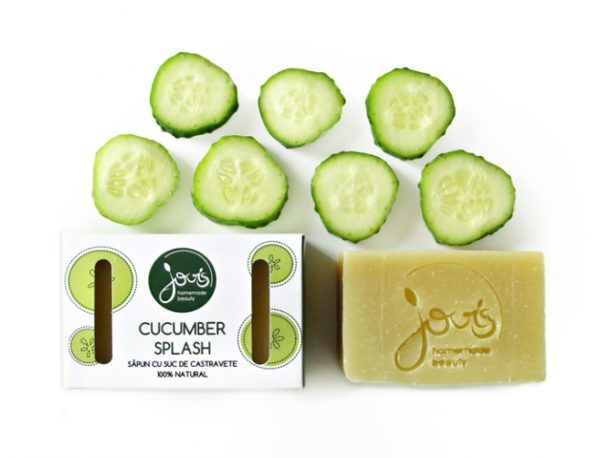 Cucumber splash - Sapun Natural Jovis 100g 0