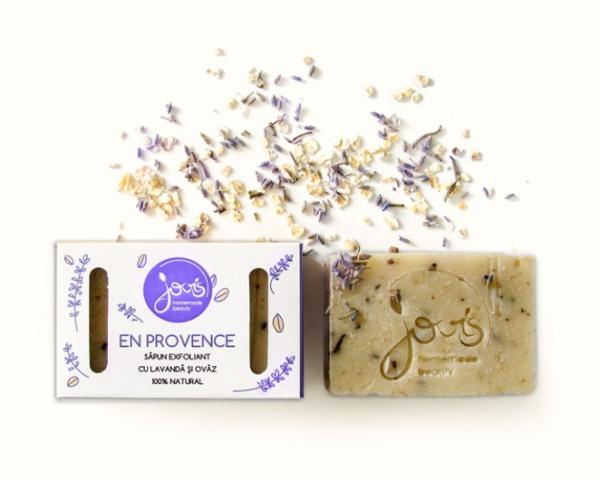 En Provence - Sapun Natural Exfoliant Jovis 100g 0