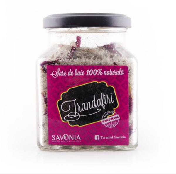 Sare de Baie cu Trandafiri Savonia 250g [0]