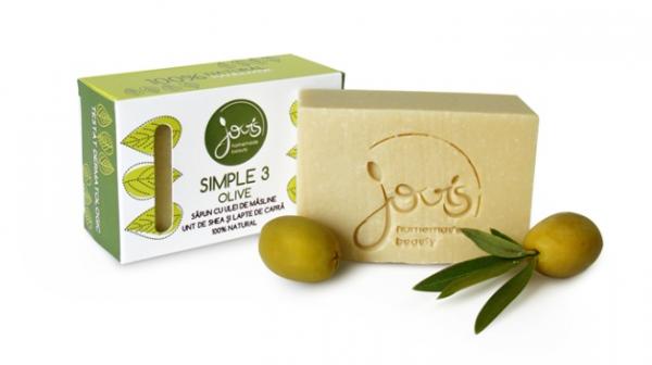 Simple 3 Olive Sapun Natural Jovis 100g 0
